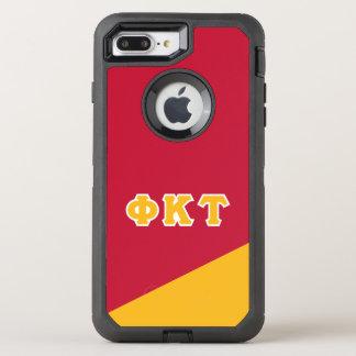 Coque Otterbox Defender Pour iPhone 7 Plus Lettres de Grec de Tau | de Kappa de phi