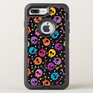 Coque Otterbox Defender Pour iPhone 7 Plus Motif 2 de crânes