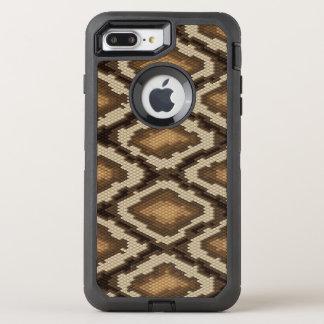 Coque Otterbox Defender Pour iPhone 7 Plus Motif 2 de peau de serpent de python