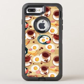 Coque Otterbox Defender Pour iPhone 7 Plus Motif 3 de petit déjeuner