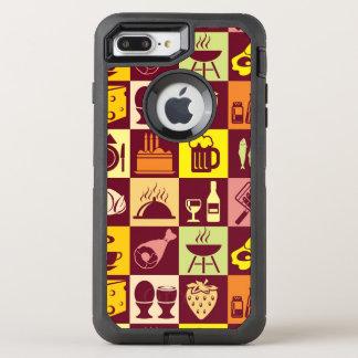 Coque Otterbox Defender Pour iPhone 7 Plus Motif 4 de nourriture