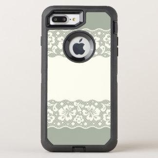 Coque Otterbox Defender Pour iPhone 7 Plus Motif de dentelle, cru 5 de fleur