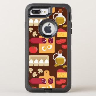 Coque Otterbox Defender Pour iPhone 7 Plus Motif de pizza