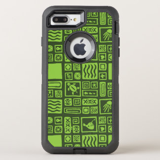 Coque Otterbox Defender Pour iPhone 7 Plus Motif de Tiki