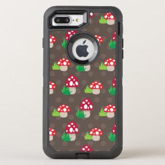 Coque Otterbox Defender Pour iPhone 7 Plus motif d'enfants de champignon