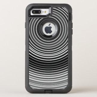Coque Otterbox Defender Pour iPhone 7 Plus Motif élégant noir et blanc contemporain