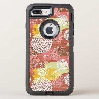 Coque Otterbox Defender Pour iPhone 7 Plus Motif floral 2