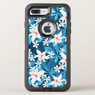 Coque Otterbox Defender Pour iPhone 7 Plus Motif floral 2 de ketmie tropicale