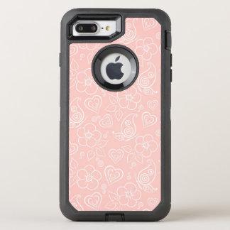 Coque Otterbox Defender Pour iPhone 7 Plus Motif floral décoratif