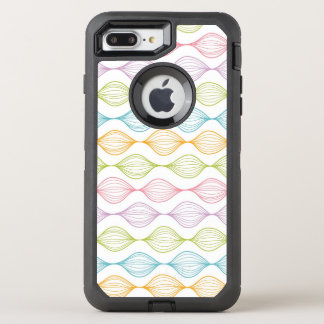 Coque Otterbox Defender Pour iPhone 7 Plus Motif horizontal coloré d'ogee