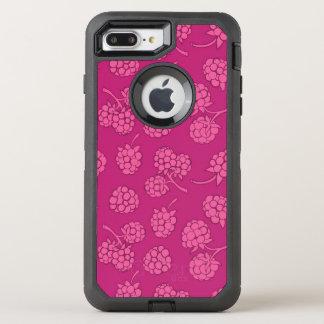 Coque Otterbox Defender Pour iPhone 7 Plus Motif magenta de baie
