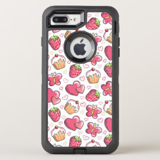 Coque Otterbox Defender Pour iPhone 7 Plus motif romantique de nourriture