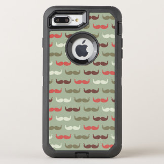 Coque Otterbox Defender Pour iPhone 7 Plus Motif vintage avec la moustache