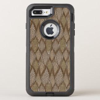 Coque Otterbox Defender Pour iPhone 7 Plus Peau de serpent stylisée