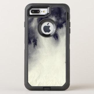 Coque Otterbox Defender Pour iPhone 7 Plus Peinture abstraite d'encre sur la texture de