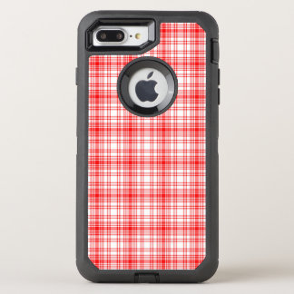 Coque Otterbox Defender Pour iPhone 7 Plus Plaid rouge
