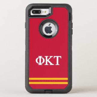 Coque Otterbox Defender Pour iPhone 7 Plus Rayure de sport de Tau | de Kappa de phi