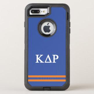 Coque Otterbox Defender Pour iPhone 7 Plus Rayure de sport du Rho | de delta de Kappa