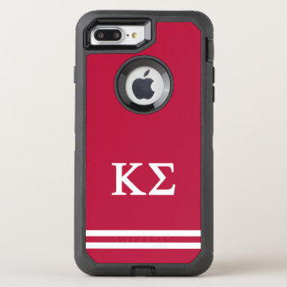 Coque Otterbox Defender Pour iPhone 7 Plus Rayure de sport du sigma | de Kappa