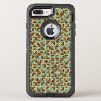 Coque Otterbox Defender Pour iPhone 7 Plus Rétro motif géométrique
