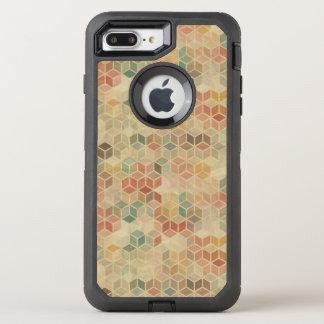 Coque Otterbox Defender Pour iPhone 7 Plus Rétro motif géométrique 5