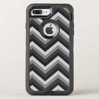 Coque Otterbox Defender Pour iPhone 7 Plus Rétro zigzag Chevron de motif
