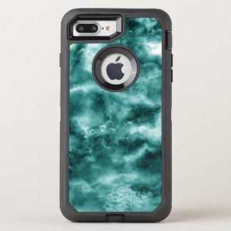 Coque Otterbox Defender Pour iPhone 7 Plus Texture de marbre vert-foncé
