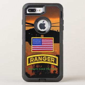 Coque Otterbox Defender Pour iPhone 7 Plus Vétérinaires aéroportés LRRP de vétérans de gardes