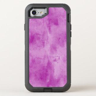 Coque Otterbox Defender Pour iPhone 7 pourpre sans couture d'aquarelle de texture