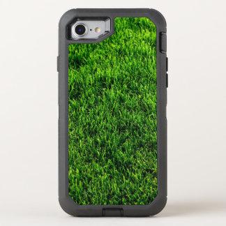 Coque Otterbox Defender Pour iPhone 7 Texture d'herbe verte d'un terrain de football