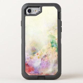 Coque Otterbox Defender Pour iPhone 7 Texture grunge abstraite avec la peinture