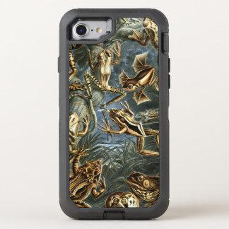Coque Otterbox Defender Pour iPhone 7 Variété d'Ernst Haeckel de grenouilles exotiques :