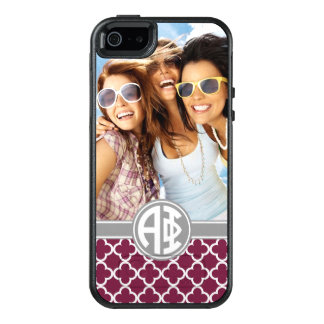 Coque OtterBox iPhone 5, 5s Et SE Alpha monogramme et photo du phi |