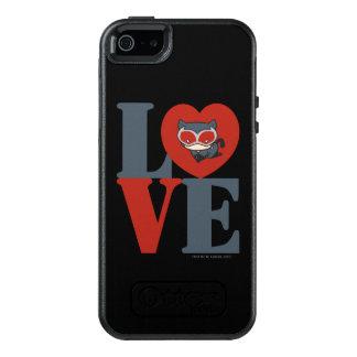 Coque OtterBox iPhone 5, 5s Et SE AMOUR de Catwoman de Chibi