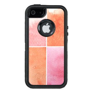 Coque OtterBox iPhone 5, 5s Et SE aquarelle colorée