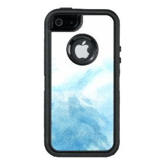 Coque OtterBox iPhone 5, 5s Et SE arrière - plan coloré d'aquarelle pour le votre