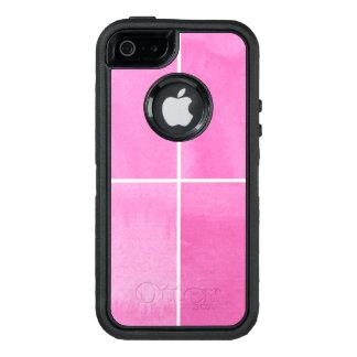 Coque OtterBox iPhone 5, 5s Et SE arrière - plan coloré d'aquarelle pour vos 2 3