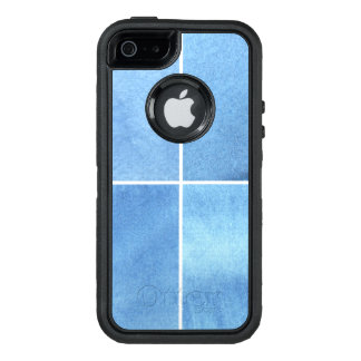 Coque OtterBox iPhone 5, 5s Et SE arrière - plan coloré d'aquarelle pour vos 4