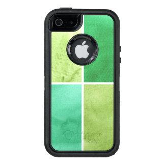 Coque OtterBox iPhone 5, 5s Et SE arrière - plan coloré d'aquarelle pour vos 6