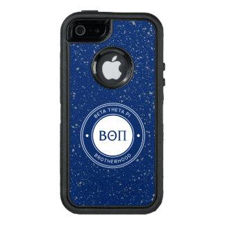 Coque OtterBox iPhone 5, 5s Et SE Bêta insigne du thêta pi |