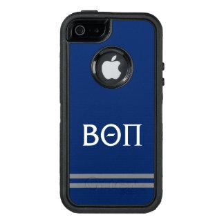 Coque OtterBox iPhone 5, 5s Et SE Bêta rayure de sport du thêta pi |