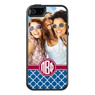 Coque OtterBox iPhone 5, 5s Et SE Bêtas monogramme et photo du phi | de pi