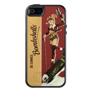 Coque OtterBox iPhone 5, 5s Et SE Bombes de Harley Quinn de pin-up