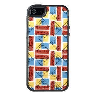 Coque OtterBox iPhone 5, 5s Et SE Bouclier de Superman avec des couleurs
