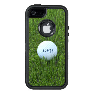 Coque OtterBox iPhone 5, 5s Et SE Boule de golf dans le rugueux - personnalisé
