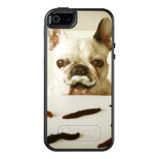 Coque OtterBox iPhone 5, 5s Et SE Bouledogue français avec une moustache