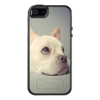 Coque OtterBox iPhone 5, 5s Et SE Bouledogue français ennuyé