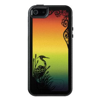 Coque OtterBox iPhone 5, 5s Et SE Cas de symétrie d'OtterBox d'arc-en-ciel de