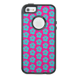 Coque OtterBox iPhone 5, 5s Et SE Cas hawaïen de l'iPhone SE/5/5s Otterbox de fleur