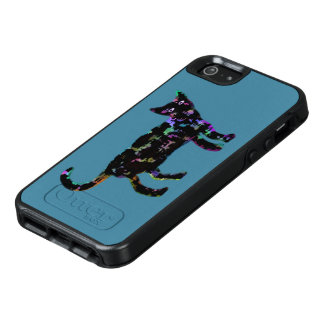 Coque OtterBox iPhone 5, 5s Et SE Chat au néon